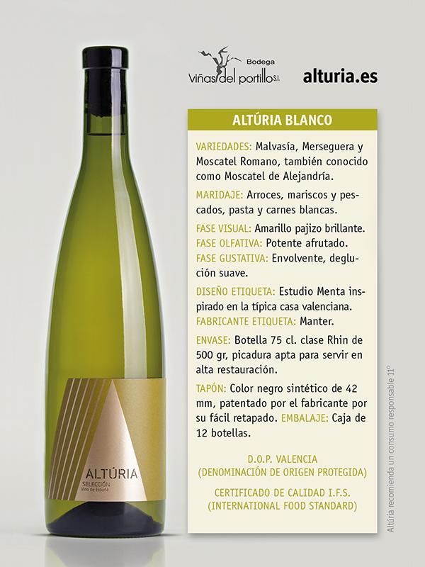 Comprar Vino Blanco Alturia