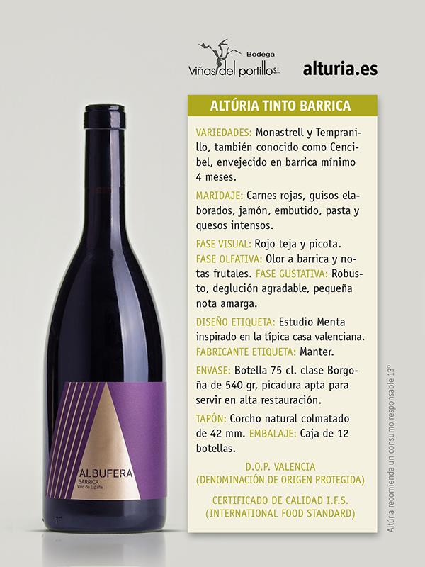 Comprar Vino Tinto Albufera